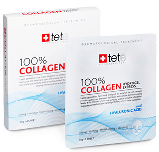 Tete. 100% collagen hydrogel express mask