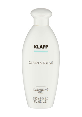 Klapp. Clean Active. CLEANSING GEL очищающий гель