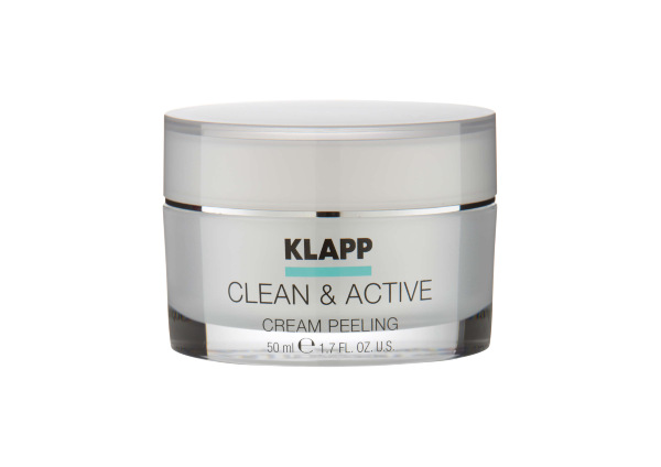 Klapp. Clean Active. CREAM PEELING крем-пилинг