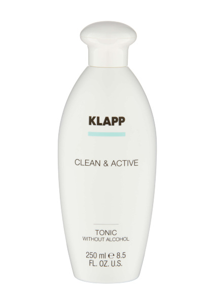 Klapp. Clean Active. TONIC WITHOUT ALCOHOL тоник без алкоголя